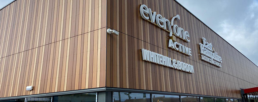Exciting new leisure centre in Whitehill & Bordon