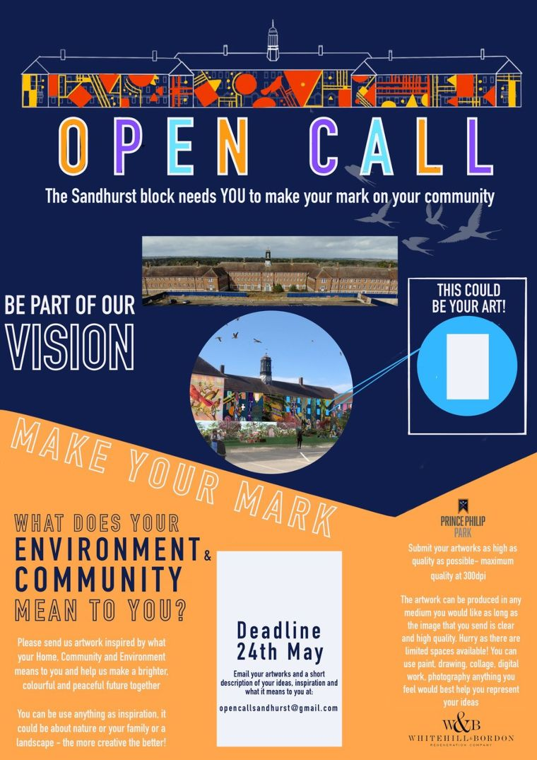 WBRC announces open call to community to help dress town centre building